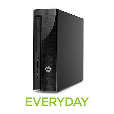 HP Slimline 260-a180na Desktop PC Black