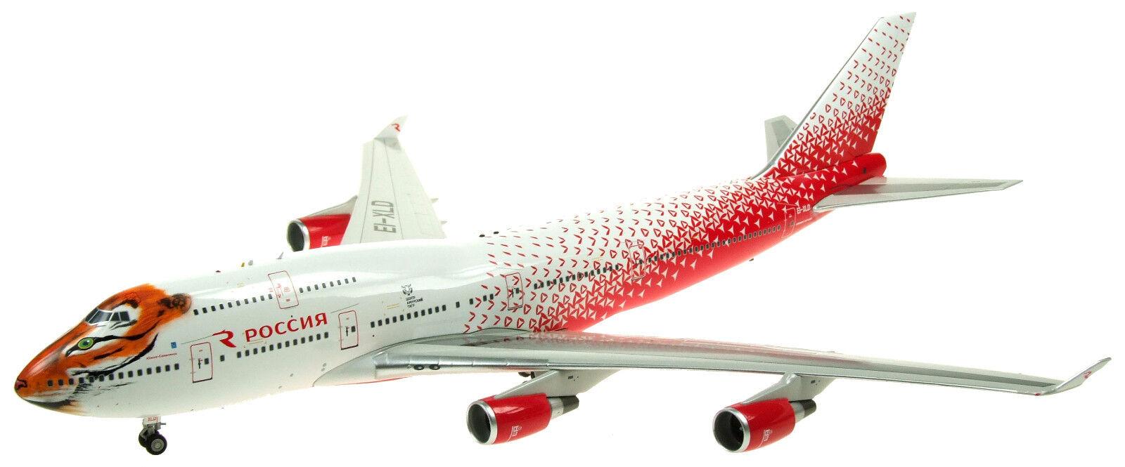 ci sono più marche di prodotti di alta qualità If744sdm001 1 200 Rossiya Russo Airlines B747-400 Ei-Xld Ei-Xld Ei-Xld Amur Tiger Centro  all'ingrosso a buon mercato