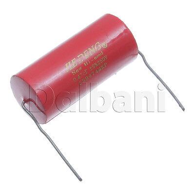 2pcs CBB155MKP Metallized Polypropylene MKP Audio Capacitor 250V 1.5uF Axial