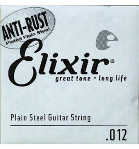 Corde au détail guitare acoustique Elixir acier plein 012-13012