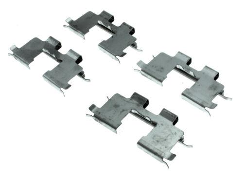 Disc Brake Hardware Kit Rear Centric 117.51002