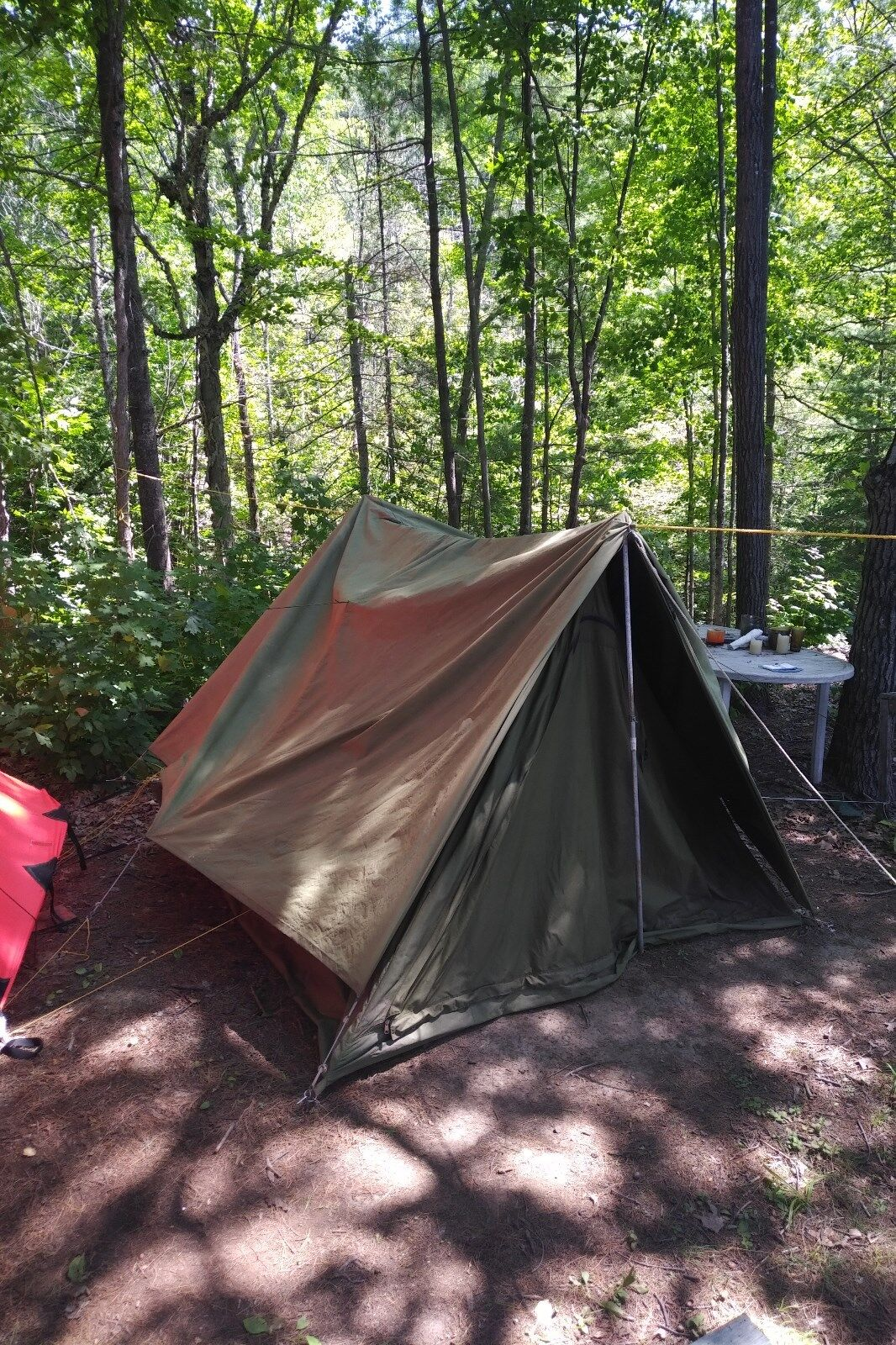 Canadian  Military 4-Man   2-Man RECCE Tent Surplus Camping  trendy