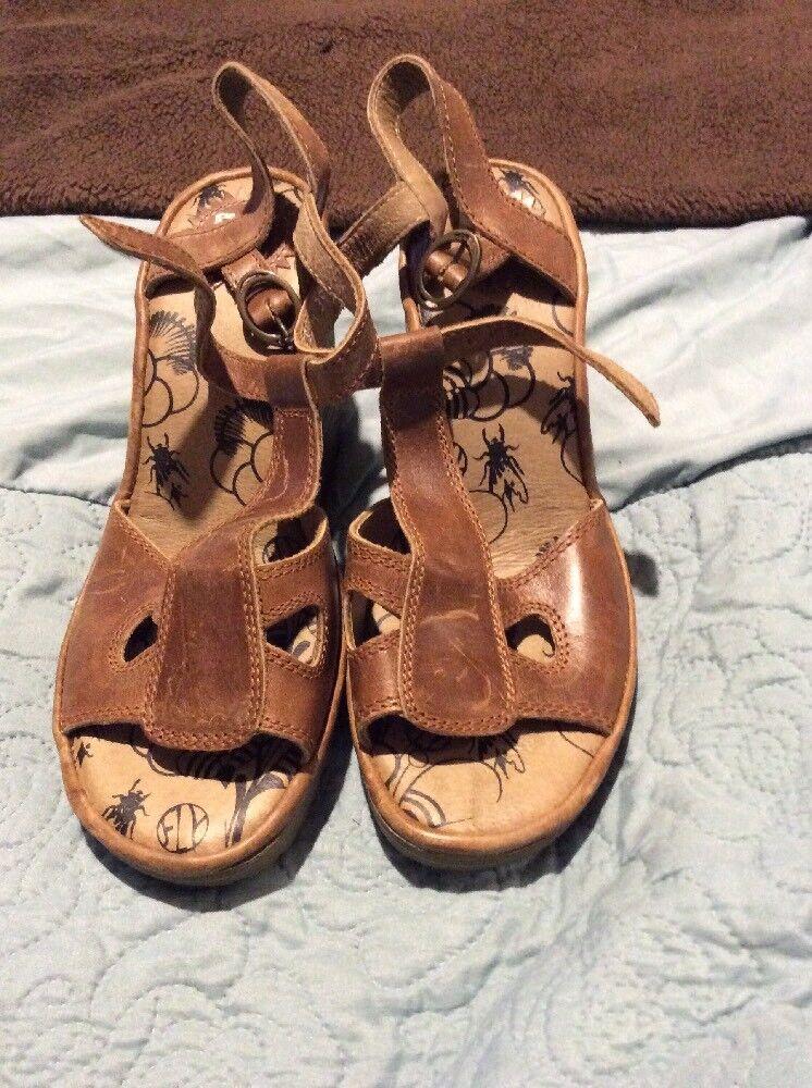 Mouche des Sandales Tan Taille 39 neuf sans boîte