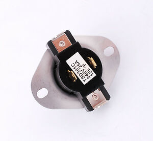 new fixed thermostat for dryer 3387134 for whirlpool ebay. Black Bedroom Furniture Sets. Home Design Ideas