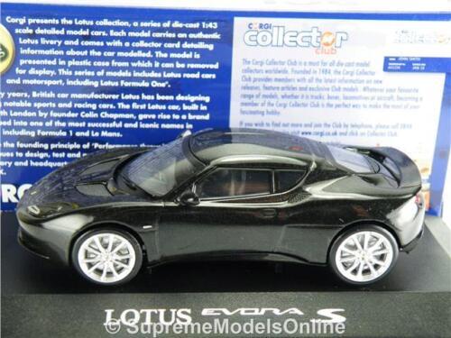 ^ Lotus Evora S Starlight Noir Modèle De Voiture 1//43RD taille 2 portes type CC56502 Y065J ^