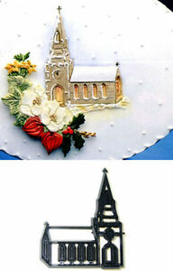 Church-Chapel-Cutter-of-Embosser-for-Cakes