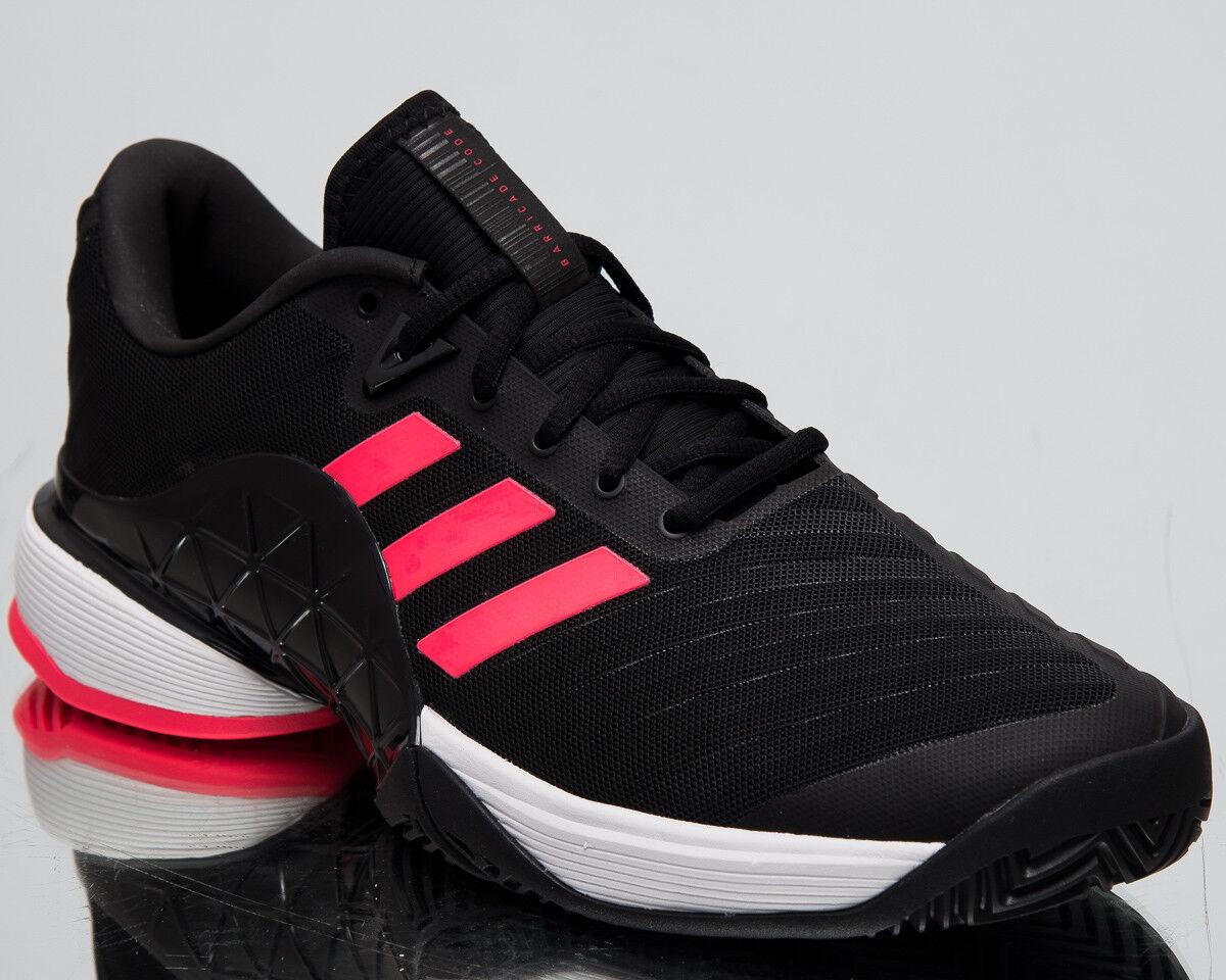 Adidas Barricade 2018 New Men's Tennis scarpe Core nero Flash rosso Sport AH2092