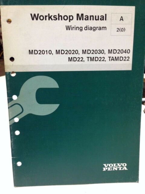 Volvo Penta Workshop Manual Wiring Diagram P  N 7740536  Dbx2