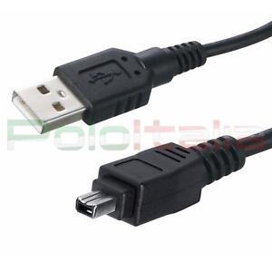 Cavo-USB-FIREWIRE-per-videocamera-telecamera-fotocamera-digitale-Jvc-Nikon-Canon