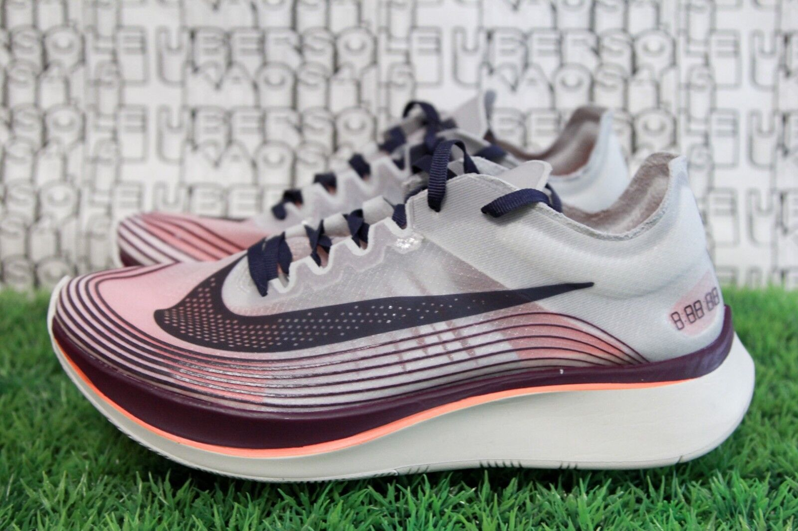 Nike Zoom Fly SP AA3172 500 Marathon off white Purple Crimson MEN 7.5,WOMEN 9