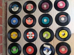 "Lot of 16  - 7"" 45Rpm-Higher End-Northern Soul/Blues/R&B/-Hip Hop 1960-80s LOT"