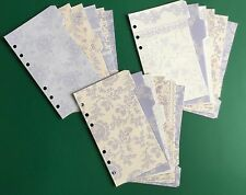 Filofax Personal Planner - Beautiful Lavender Coloured Dividers (x6) - Laminated