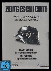 DVD ZEITGESCHICHTE - DER 2.WELTKRIEG - DIE DVD-ENZYKLOPÄDIE - 4 DVD-BOX-SET *NEU