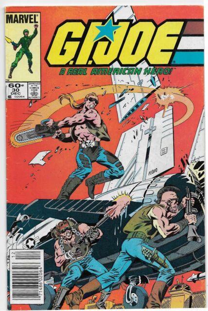 G.I. Joe, A Real American Hero #30 (Dec 1984, Marvel) Dreadnoks app. GD/VG (3.0)