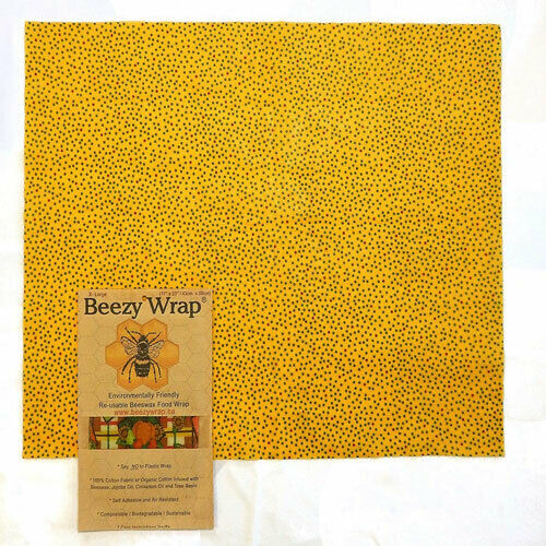 Beezy Wrap® Beeswax Food WrapSustainableEnvironmentally Friendly
