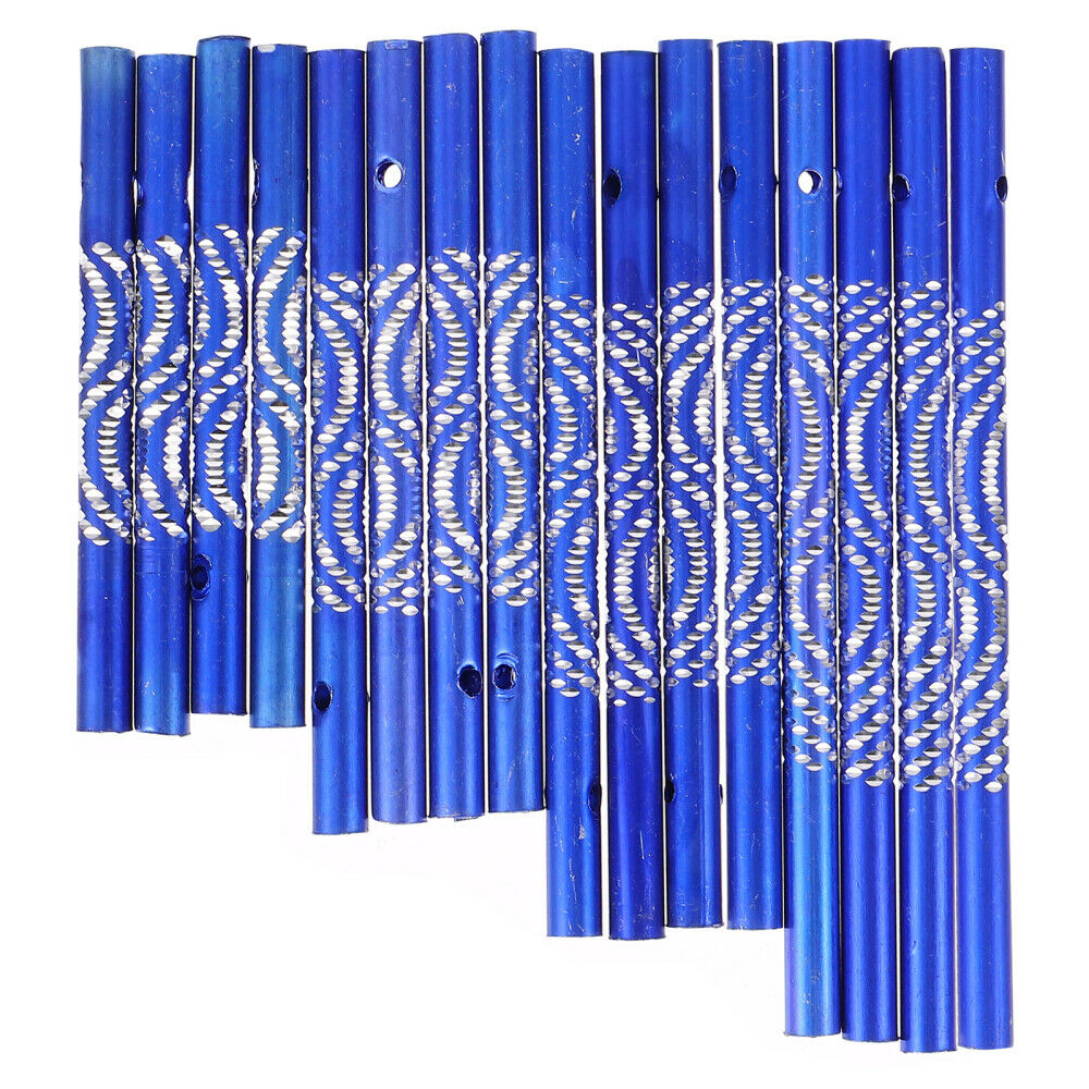 16Pcs Wind Chime Tube Garden Decorative Aluminum Tube Pipe Supplies for Balcony