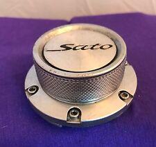 Sato Silver Wheel Center Cap (1) pn: CT21