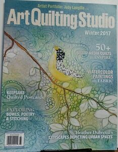 Art Quilting Studio Winter 2017 Mixed Media Quilts to Inspire FREE ... : mixed media quilts - Adamdwight.com