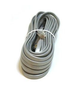 25ft Phone Cable Wire RJ12 RJ-12 6P6C Straight FOR DATA Telephone ...
