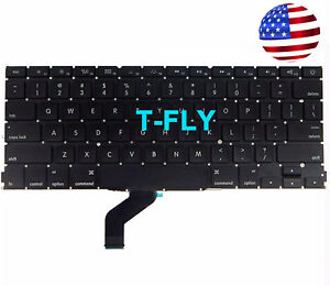 NEW-US-Keyboard-Matt-for-Macbook-pro-13inch-Retina-A1425