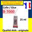 PROMO-Colle-glue-adhesif-B7000-pour-ecran-tablette-vitre-chassis-smartphone miniature 3
