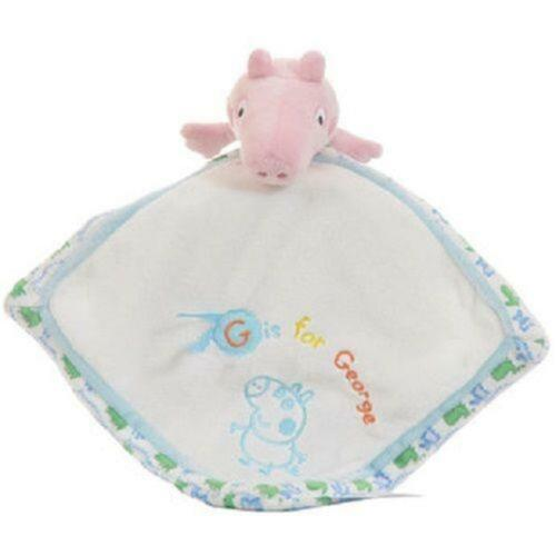 Peppa Pig George Chime Rattle  Spiral  Activity Toy Comforter Teether Musical