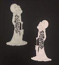 Crafts Metal Elegant Lady Fancy Dress Vintage Die Cutter