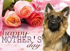Alsatian / German Shepherd Dog C5 Gloss Mother's Day Card MGSD-1