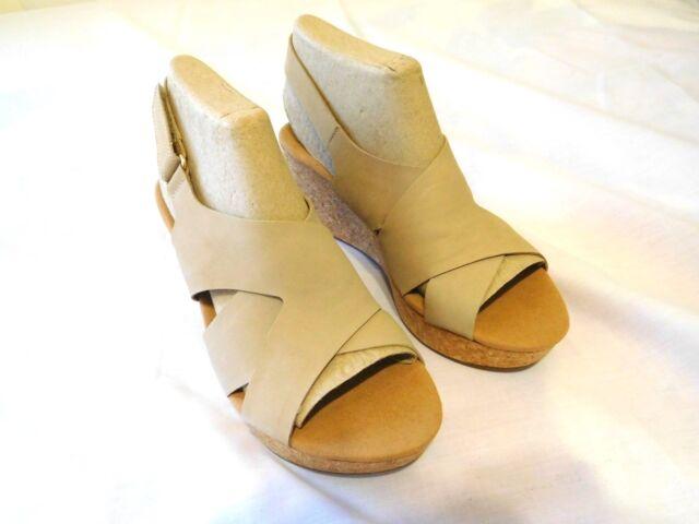 9fa546dae477 Clarks Women Shoes New Size 10 Sand Nubuck Annadel Fareda Sable  Goodtreasures123
