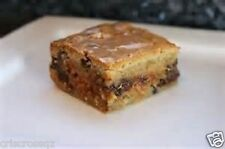 "Homemade MAPLE BACON Chocolate Chip BLONDIES * Cookie Bars * GLAZE * 8"" pan *"
