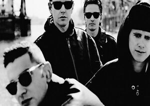 Depeche-Mode-7-Photo-Rock-Band-Print-Heavy-Metal-Picture-Vintage-Music-Poster
