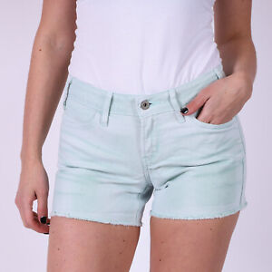 Levi-039-s-Grun-Denim-Damen-Shorts-W27