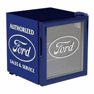Ford Beverage Chiller - A Cool Fridge For More & Mustang Fans FREE USA SHIPPING!