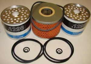 Details about David Brown Tractor 990,995 996 Filter set, 2 Fuel Filters on