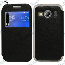 Custodia Cover Vista NERO Flip Samsung Galaxy Ace 4 Style LTE SM-G357FZ