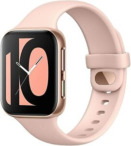 "Smartwatch Oppo Watch 41mm AMOLED 1.6"" GPS NFC WiFi Google Wear OS Pink"