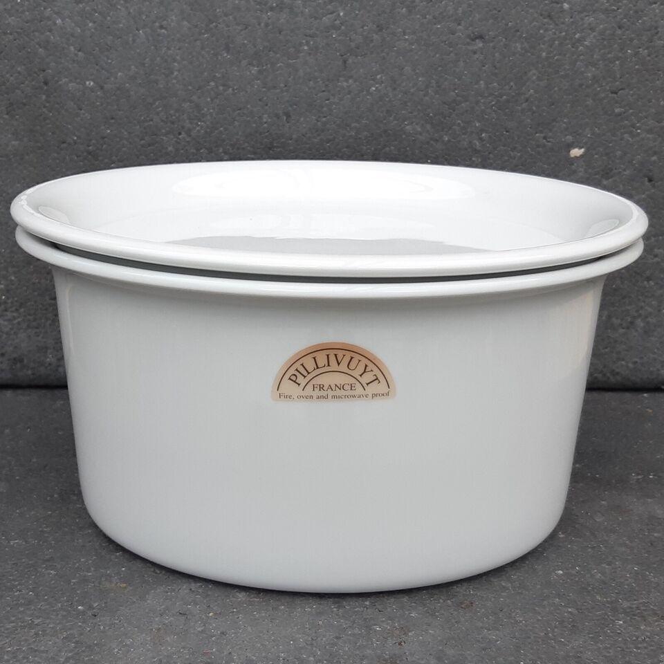 Porcelæn, Pillivuyt Souffle skål, Sancerre Souffléform