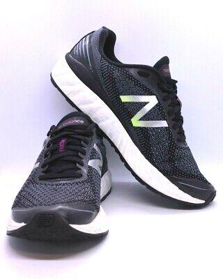 Para Hombre Fresh Foam Vongo New Balance V2 Negro Zapatos Talla EE ...