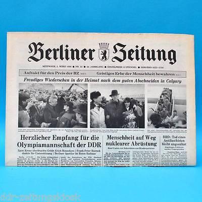 33 34 ZK 31 DDR Neues Deutschland November 1984 Geburtstag Hochzeit 30 32