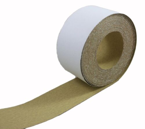 ABN Adhesive Sticky Back 120-Grit Sandpaper Roll 2-3//4 Inch x 20 Yards Alumin...