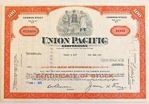Union-Pacific-gt-100-share-railroad-stock-certificate