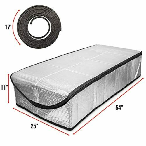 RightHand Attic Stairway CoverReflective Insulator Tent for Pull Down Ladder