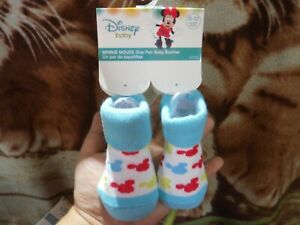 CLOSEOUT-SALE-Imported-From-USA-Minnie-Mouse-Baby-Booties-0-12M-C-2