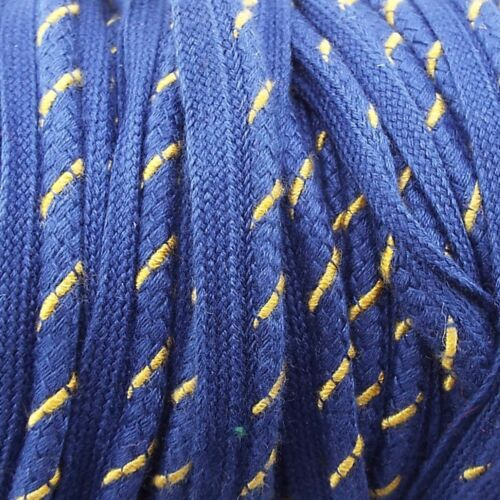 CLEARANCE 7mm Cotton Look Flanged Piping Cord Rope Edging Cushion BUY 1 2 4 8m