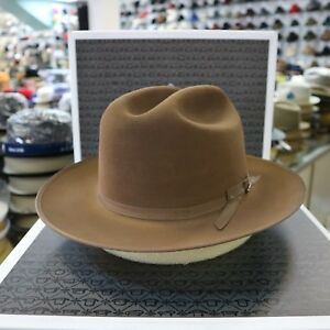 73be6c165a1d3 Image is loading STETSON-OPEN-ROAD-WALNUT-ROYAL-DELUXE-FUR-FELT-