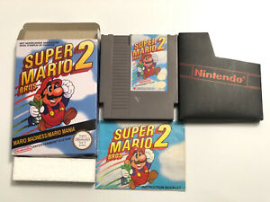 Super Mario Bros 2 NES Nintendo Game Boxed PAL
