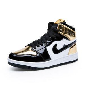 11580ac8b9f Details about Men's Outdoor Classic Athletic Sneakers Running Sports AJ 1 I  One Shoes High Top