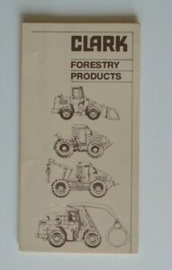 CLARK-Forestry-Products-Line-1990s-dealer-brochure-English-USA