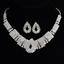 Fashion-Elegant-Women-Bib-Crystal-Pendant-Statement-Chain-Chunky-Choker-Necklace miniature 46
