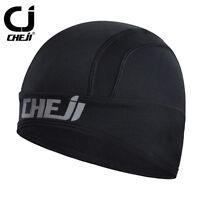 Cheji Thermal Winter Cycling Cap Black Fleece Bike Bicycle Hat Cap Reflective